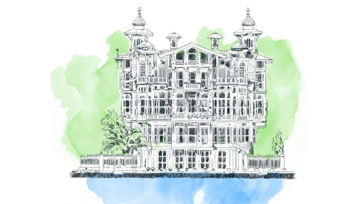 PEARLS OF BOSPHORUS; MANSIONS