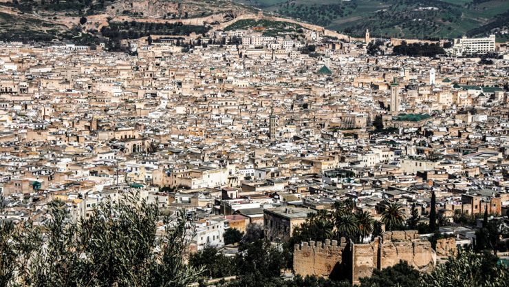 AN AUTHENTIC AND FASCINATINGLY LABYRINTHINE CITY: FEZ