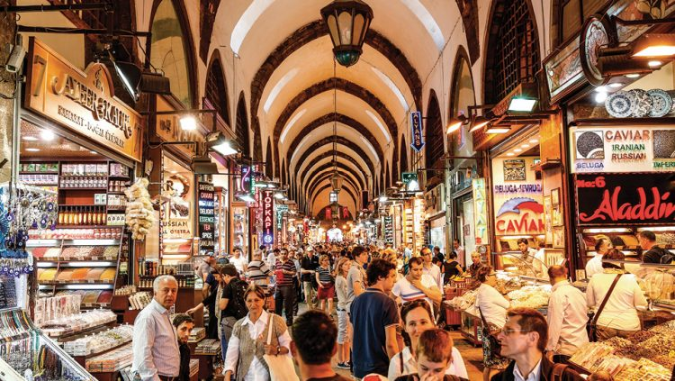 THE GRAND BAZAAR: THE MOST EXPENSIVE COMMERCIAL VENUE
