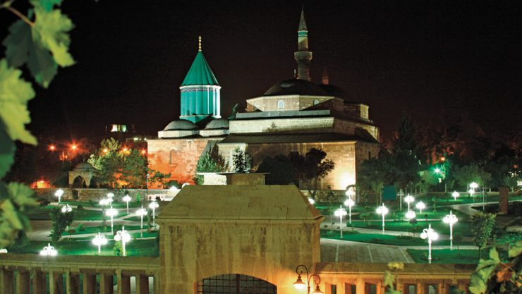 A SMALL MOSQUE (MASJID) IS NOW PUT INTO SERVICE IN MEVLANA MUSEUM