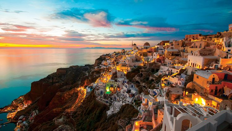 AN ATLANTIS DREAM: SANTORINI