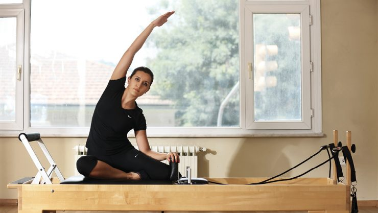 SHE FEELS MORE ENERGETIC BY DOING PILATES