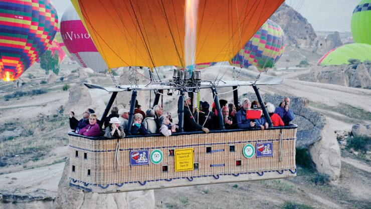 THE INTEREST IN BALLOON PILOTING IS INCREASING