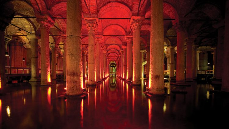 AWARD FOR THE BASILICA CISTERN