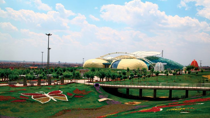 THE FIRST TROPICAL BUTTERFLY GARDEN OF TURKEY IS IN KONYA