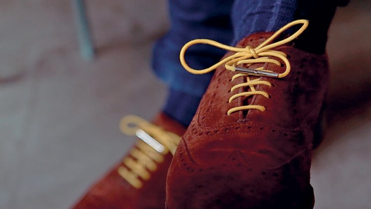 THESE SHOE LACES PROTECT THE ENVIRONMENT