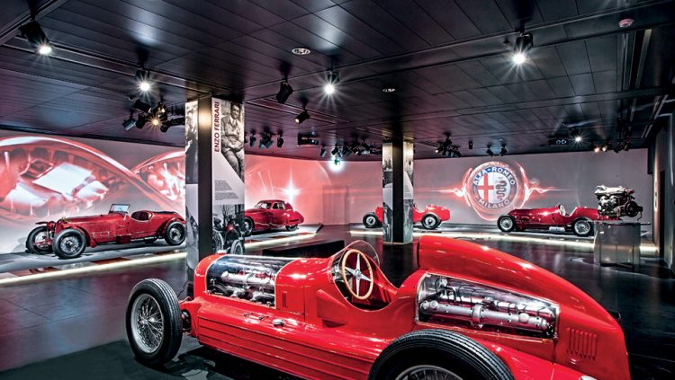 THE HISTORY OF ALFA ROMEO IS IN THIS MUSEUM