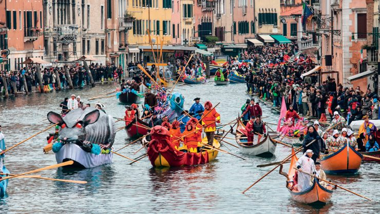 MASQUERADE AFLOAT: CARNIVAL OF VENICE