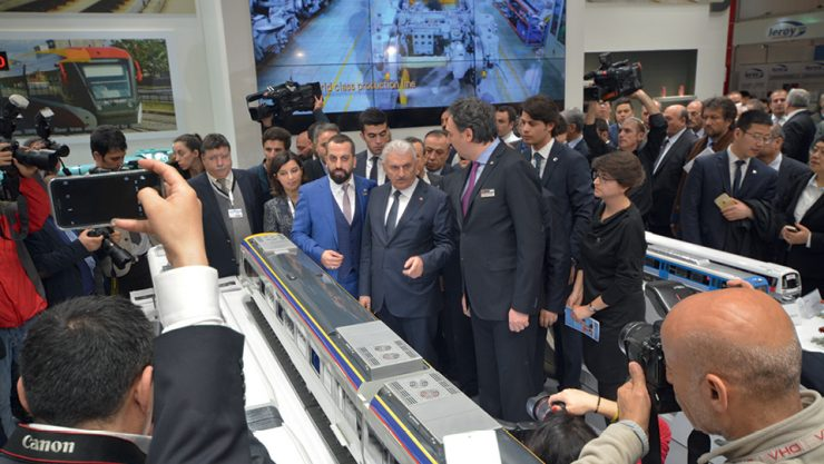 EURASIA RAIL BRINGS TOGETHER PROFESSIONALS OF THE INDUSTRY FOR THE SIXTH TIMES.
