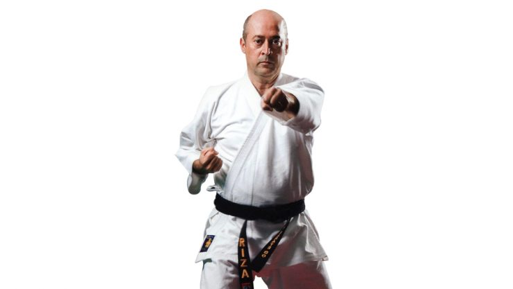 HE IS ASSERTIVE AT KARATE-DO AND HUNTING