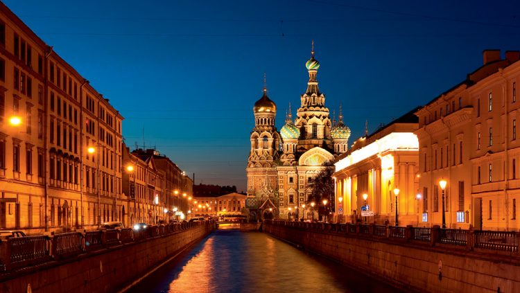 JOURNEY TO WHITE NIGHTS: ST. PETERSBURG