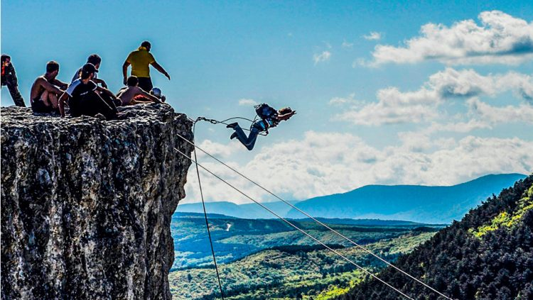 REACH THE PEAK OF ADRENALINE WITH BUNGEE JUMPING
