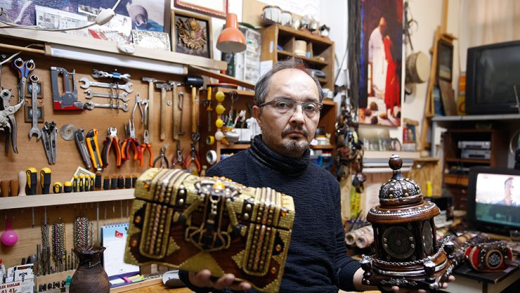 HANDICRAFT: ART OF LEATHER