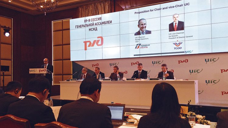 İSA APAYDIN IS ELECTED AS NEW UIC VICE CHAIRMAN