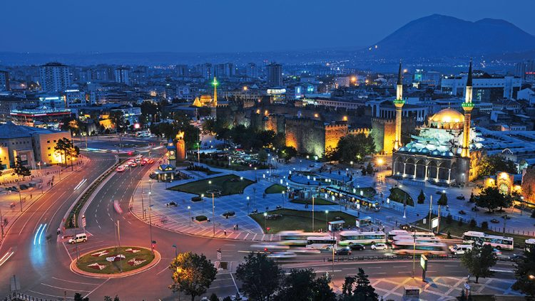 TRADE IN ITS TRADITION; HISTORY ON ITS STREETS: KAYSERİ