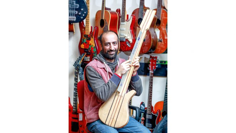 HE BECAME GLOBALIZED WITH THE INSTRUMENTS HE DESIGNED
