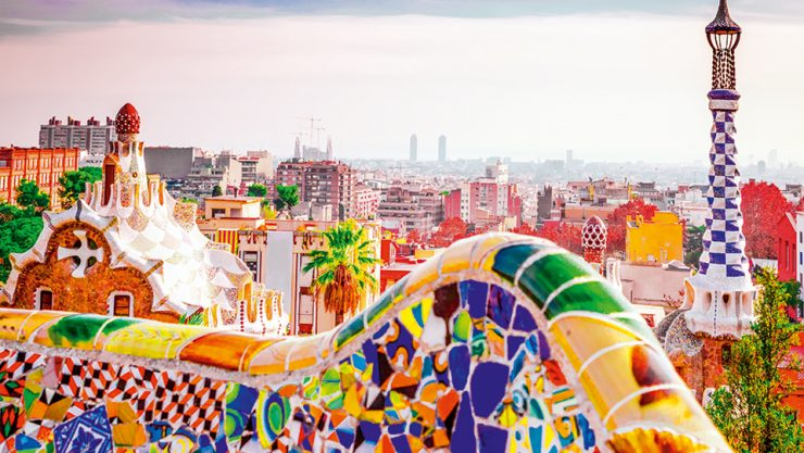 THE WONDERLAND OF SPAIN: BARCELONA