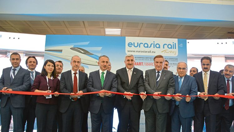THE WINDS OF TCDD BLEW AT THE EURASIA RAIL 2017