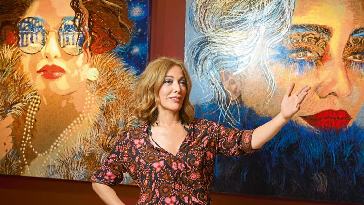 SHE DEPICTS THE WOMAN SHE WANTS TO BECOME: ZERRİN TEKİNDOR