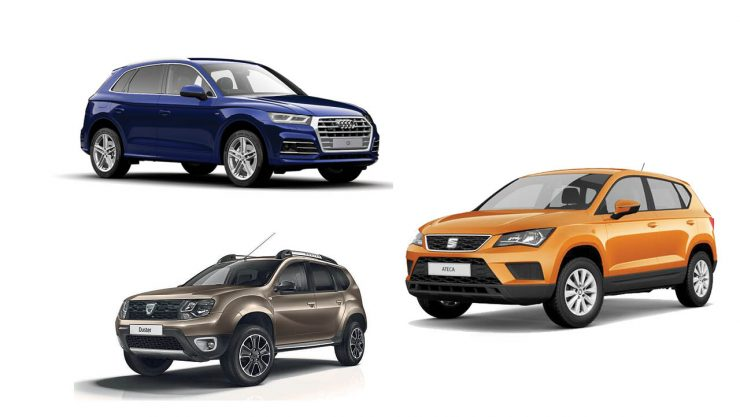 COMPETITION IS ESCALATING IN THE SUV MARKET