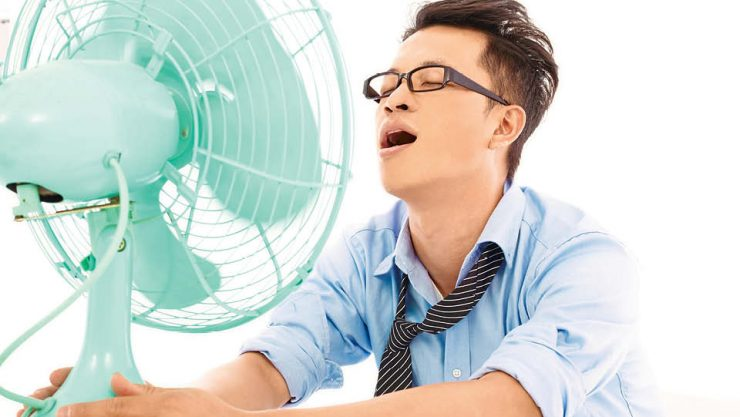 OUR BODIES DO NOT TOLERATE EXCESSIVE HEAT
