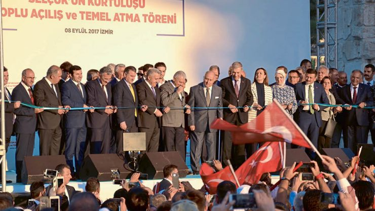 SELÇUK-TORBALI LINE OF TCDD IS PUT INTO SERVICE