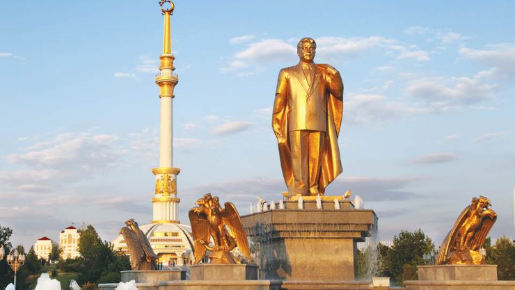 FROM A NOMADIC PAST TO A MONUMENTAL FUTURE: ASHGABAT