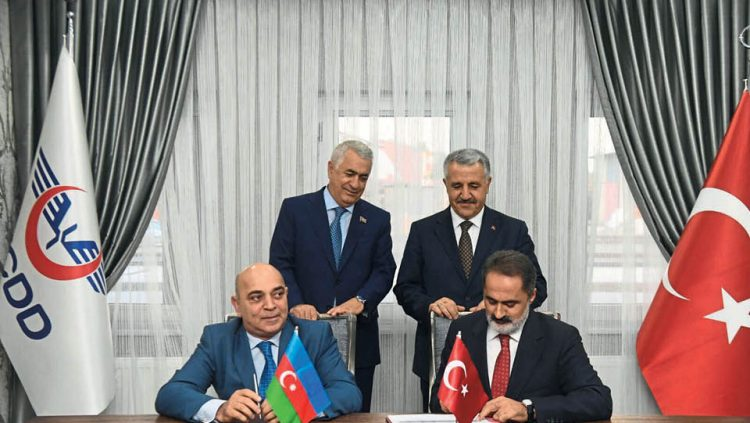 THE PROTOCOL IS SIGNED FOR THE IRON SILK ROAD'S FREIGHT TARIFF