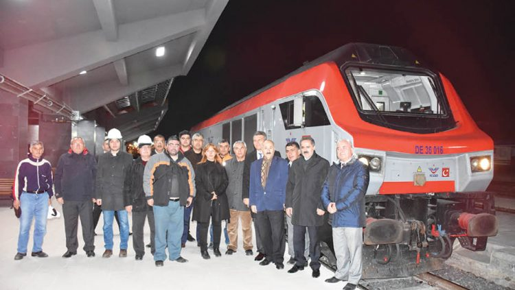 THE FIRST TRAIN OF BTK COMPLETED ITS TRIP 10 HOURS EARLY