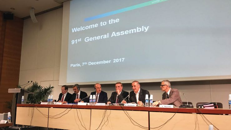 UIC EXECUTIVE COMMITTEE AND 91ST GENERAL ASSEMBLY MEETINGS WERE HELD IN PARIS