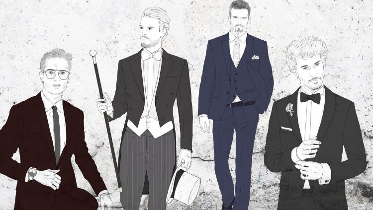 How Would You Like Your Wedding Suit To Be?