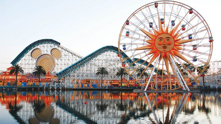 California and Disneyland Park