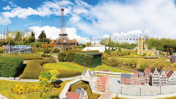 Brussels and Mini-Europe