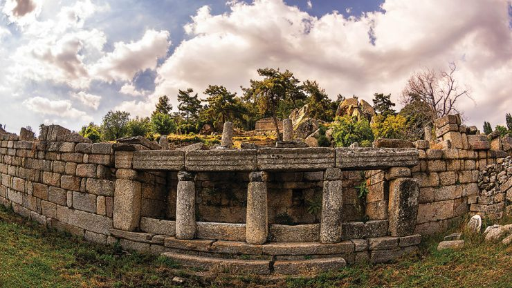 The Ancient Belief Center Of Caria: Labranda