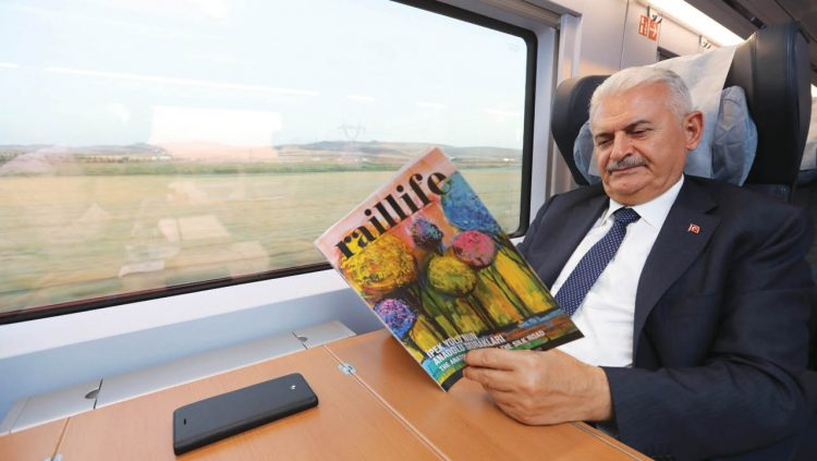 YHT Hosted The President of The TBMM Binali Yıldırım