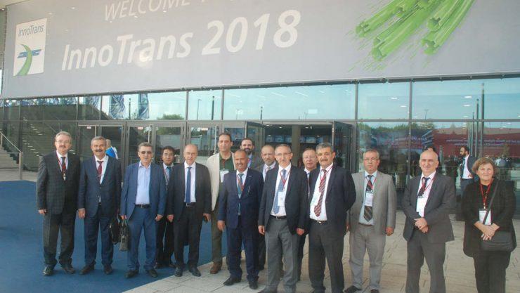 TCDD's Mark On Innotrans 2018 Fair