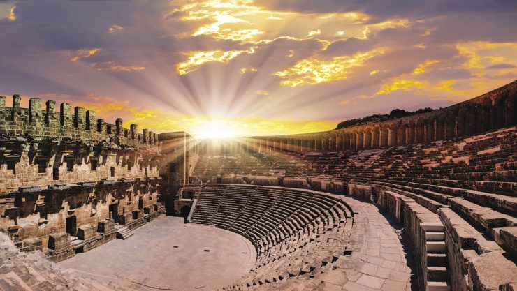 Magnificent Architecture: Aspendos