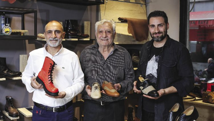 He Designs Shoes with Spirits