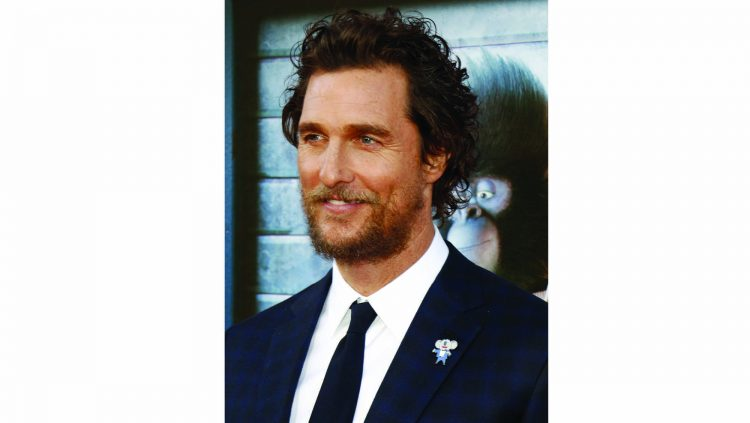 FROM ROMANTIC COMEDY TO OSCAR: MATTHEW McCONAUGHEY