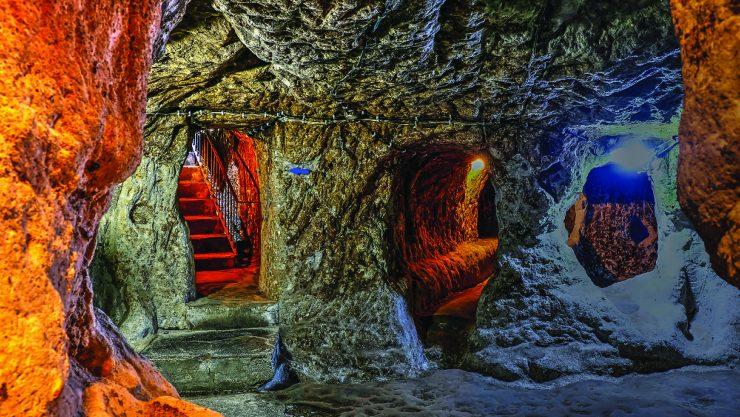 CAPPADOCIA'S UNDERGROUND LABYRINTHS OF LIFE
