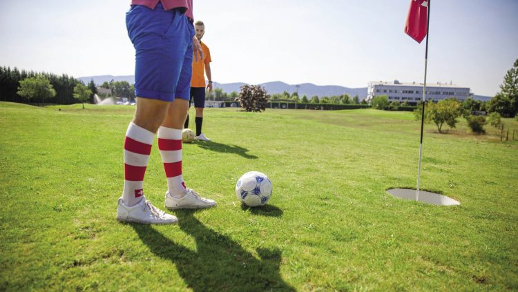 Soccer and Golf are Combined: FootGolf