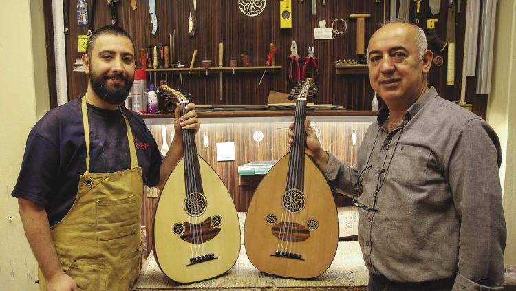 He Teaches The Fine Details of Oud Making to The World