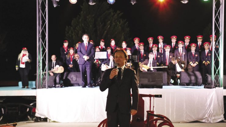 TCDD THM Chorus Gave a Concert At The Çamlık Museum