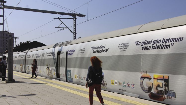 The Rumi Train Made a Trip for The Teşrif-i Konya Events