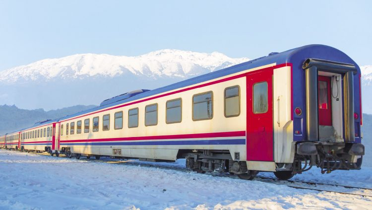 The Touristic Eastern Express is on Rails