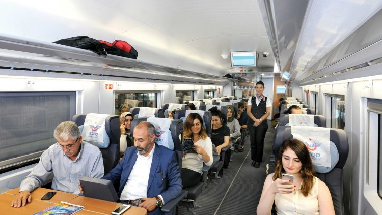 50 Million Passengers Traveled in YHT Comfort