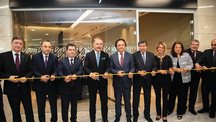 CIP Lounge of Ankara YHT Terminal Was Opened