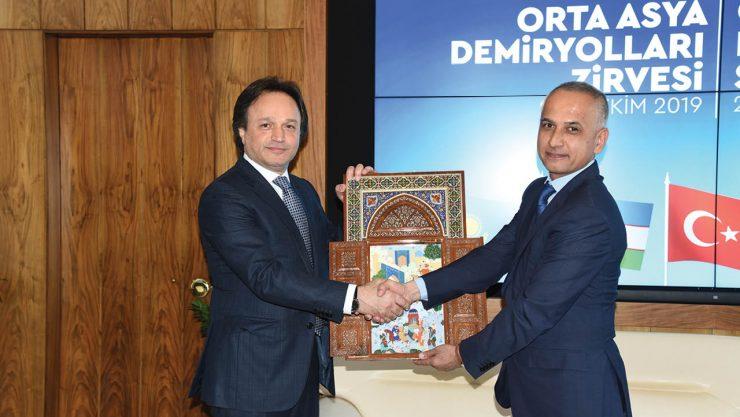 Central Asian Railways Summit is Realized in Ankara
