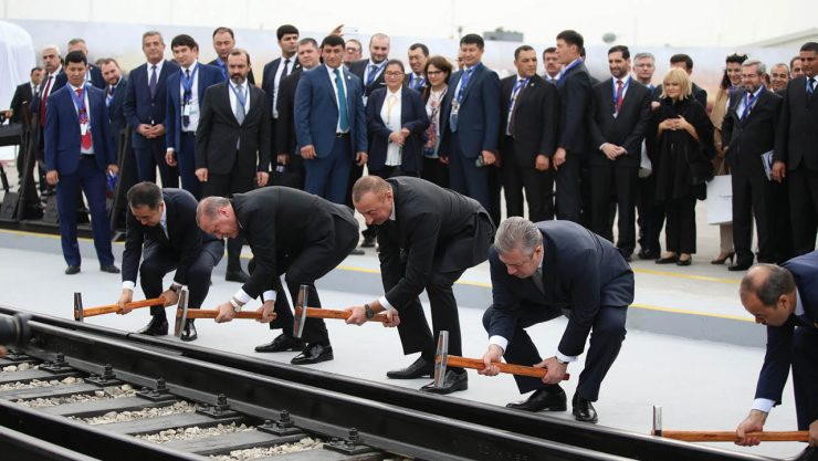 Baku-Tbilisi-Kars Railway Line is Three-Year Old