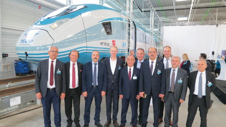 TCDD Transportation Has Received The First Of 12 YHT Set